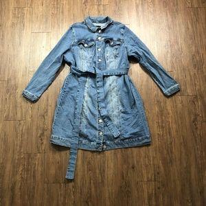 Eloquii | 22 | Denim Jacket Dress
